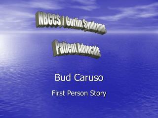Bud Caruso