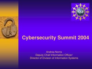 Cybersecurity Summit 2004