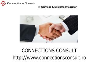 CONNECTIONS CONSULT  connectionsconsult.ro