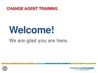 Welcome! We are glad you are here.