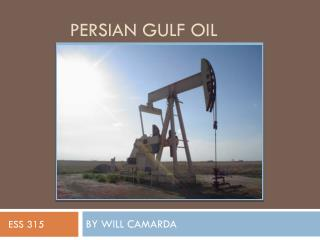 Persian Gulf Oil