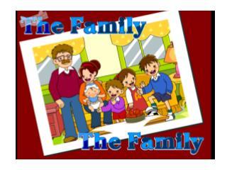 the photo  of Ben Li's family