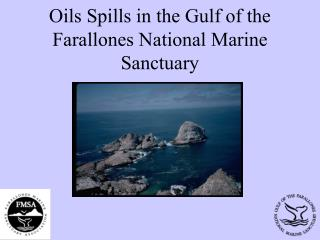 Oils Spills in the Gulf of the Farallones National Marine Sanctuary