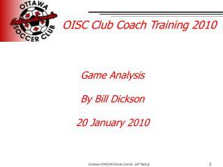 OISC Club Coach Training 2010