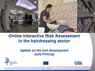Online interactive Risk Assessment  in the hairdressing sector Update on the tool development