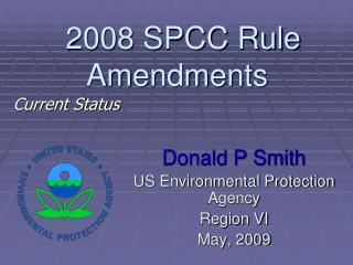 2008 SPCC Rule Amendments