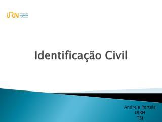 Identificação Civil