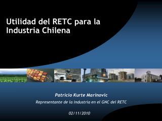 Utilidad del RETC para la Industria Chilena