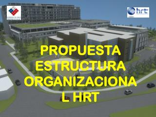 PROPUESTA ESTRUCTURA ORGANIZACIONAL HRT