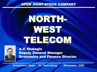 NORTH- WEST  TELECOM