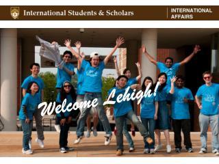 Welcome Lehigh!