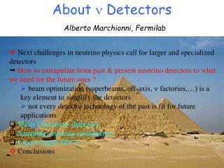 About  ?  Detectors