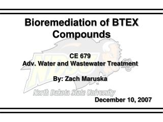 Bioremediation of BTEX Compounds
