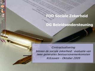 FOD Sociale Zekerheid DG Beleidsondersteuning