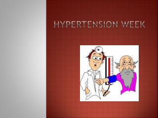 Hypertension Week