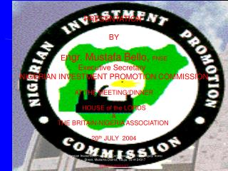 DOING BUSINESS IN NIGERIA