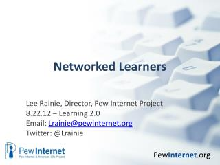 Networked Learners