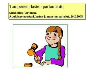 Tampereen lasten parlamentti