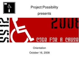 Project:Possibility presents