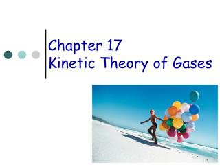 Chapter 17 Kinetic Theory of Gases
