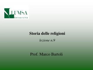 Prof. Marco Bartoli