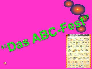 �Das ABC-Fest�