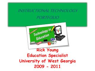 INSTRUCTIONAL TECHNOLOGY PORTFOLIO
