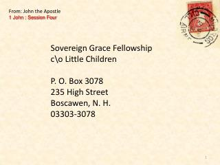 Sovereign Grace Fellowship