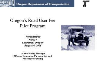 Road User Fee Task Force