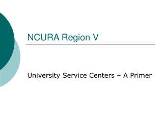 NCURA Region V
