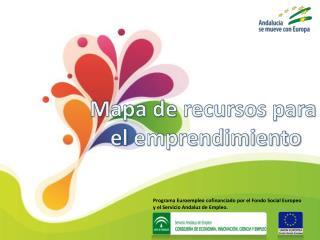 Programa  Euroempleo  cofinanciado por el Fondo Social Europeo y el Servicio Andaluz de Empleo.
