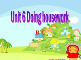 Unit 6 Doing housework