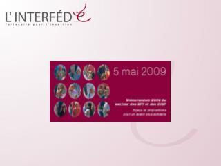 Les EFT/OISP agréés en 2009