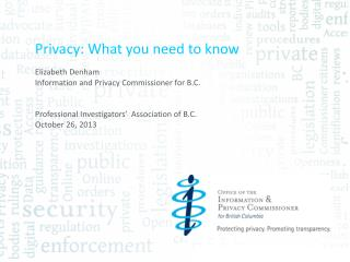 Privacy: What you need to know