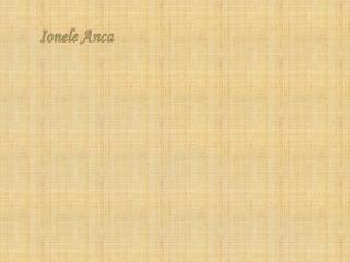 Ionele Anca