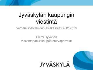 Jyväskylän kaupungin viestintä