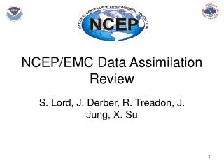 NCEP/EMC Data Assimilation Review