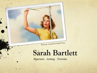 Sarah Bartlett