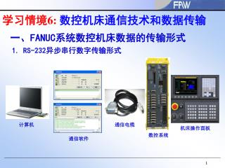 学习情境 6:  数控机床通信技术和数据传输