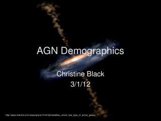 AGN Demographics