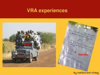 VRA experiences