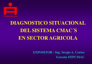DIAGNOSTICO SITUACIONAL  DEL SISTEMA CMAC´S  EN SECTOR AGRICOLA