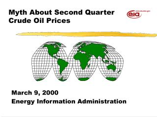 Myth About Second Quarter Crude Oil Prices