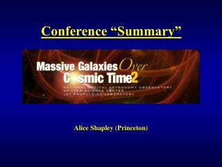 """Conference """"Summary"""""""