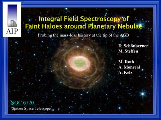 Integral Field Spectroscopy of Faint Haloes around Planetary Nebulae