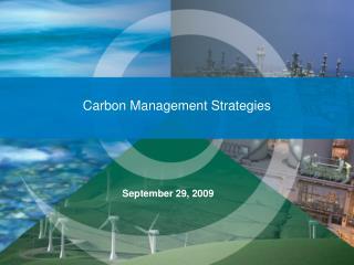 Carbon Management Strategies