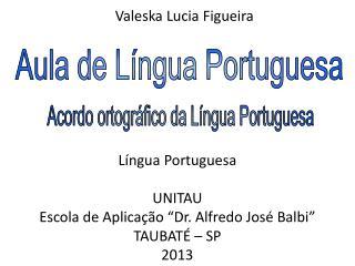 Aula de Língua Portuguesa