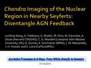 Chandra  Imaging of the Nuclear Region in Nearby  Seyferts : Disentangle AGN Feedback