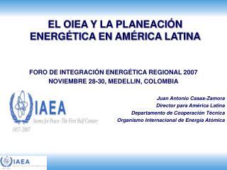 EL OIEA Y LA PLANEACI�N ENERG�TICA EN AM�RICA LATINA