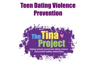 Teen Dating Violence Prevention